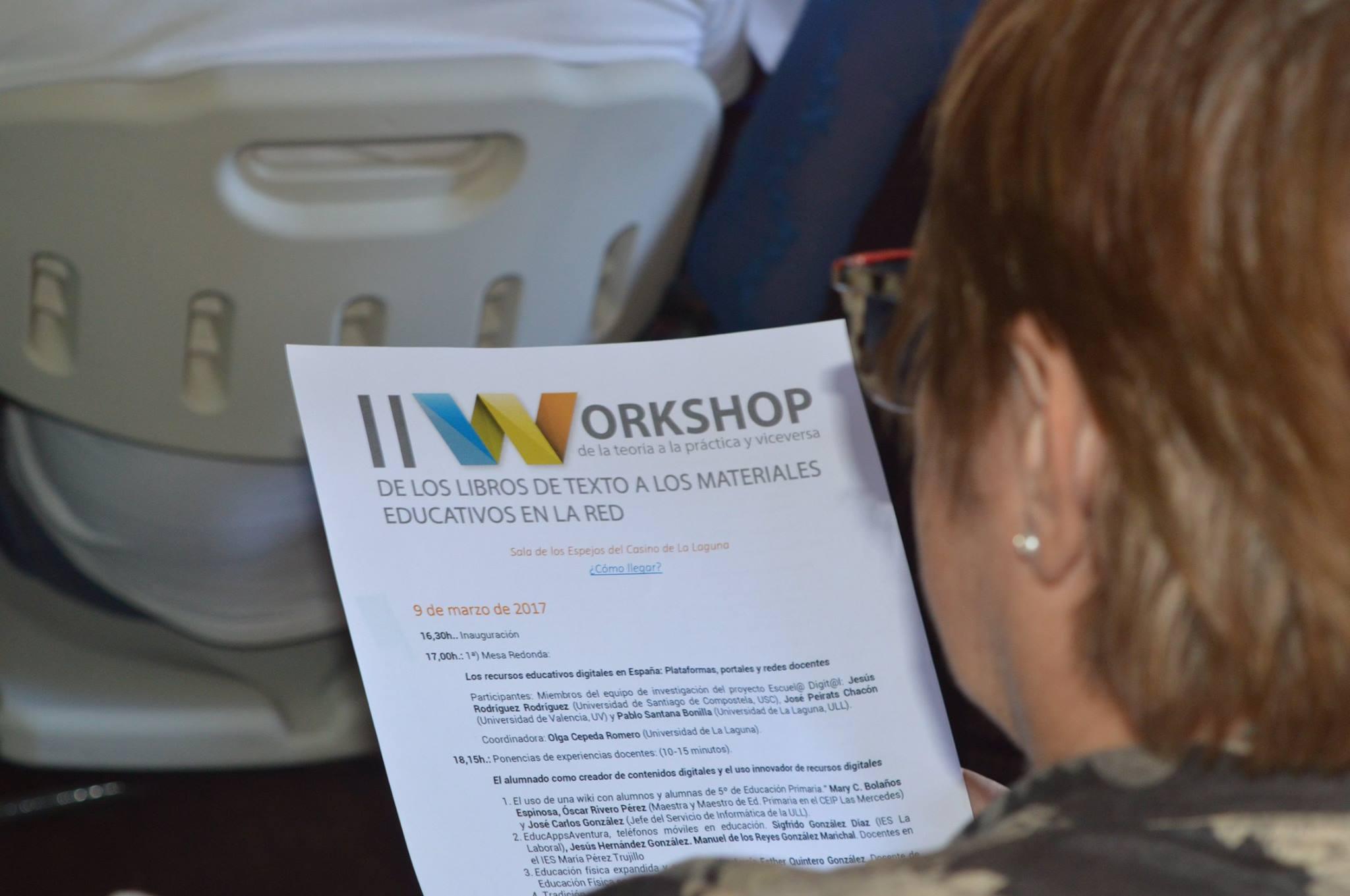 II Workshop de la teoria a la practica y viceversa